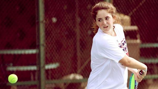 Image of Tennis Player, Merri Kelly Hannity