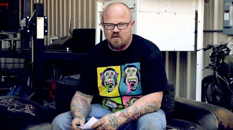 """Image of Mike Coy from """"Gas Monkey Garage"""" net Worth, Cancer, Marriage, Wiki, Bio."""