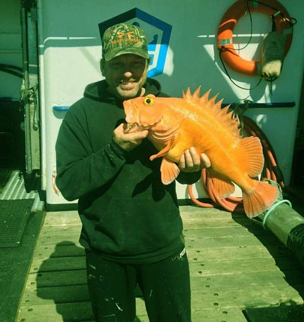 Image of Norman Hansen from the TV show, The Deadliest Catch