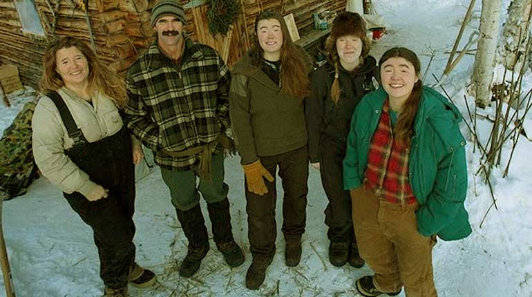 Image of The last alaskans lewis family: Where are they now