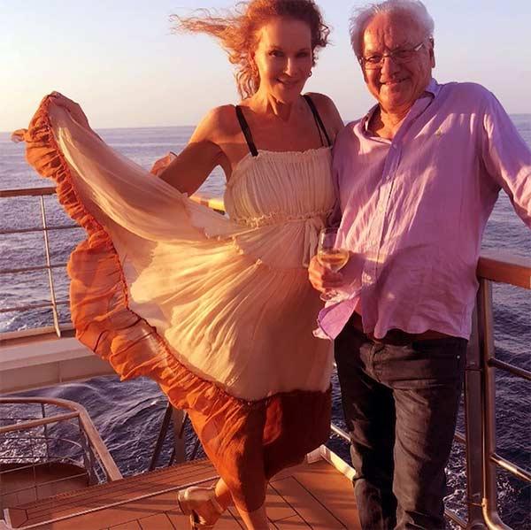 Image of Rhonda Burchmore with her husband Dr. Nikolai Jeuniewic