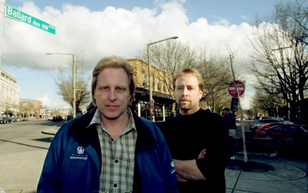 Image of Sig Hansen with his brother Edgar