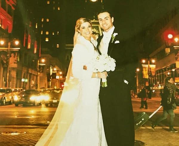 Image of Stephanie Grady with her husband Joe Grady