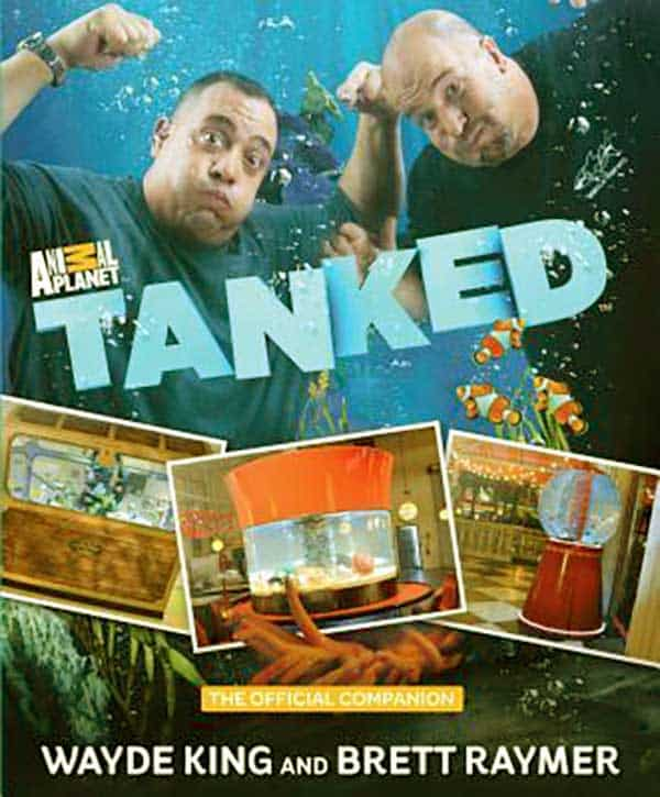 Image of Wayde King published a book named, Tanked: The Official Companion