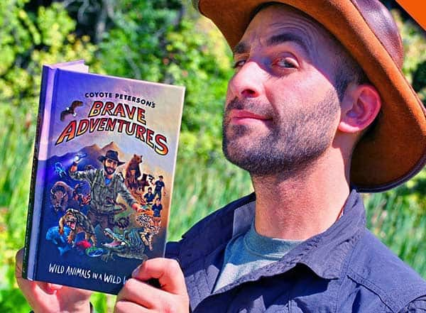Image of Coyote Peterson book named Brave Adventures: Wild Animals in a Wild World