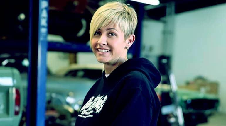 Image of Gas Monkey Garage Girl Christie Brimberry, Husband, Net Worth, Wiki Biography.