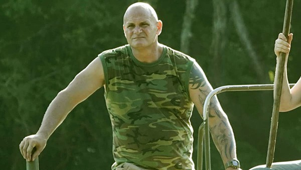 Image of Ronnie Adams from the TV reality show, Swamp People