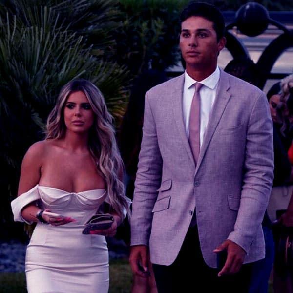 Image of Brielle Biermann with her ex-boyfriend Justin Hooper