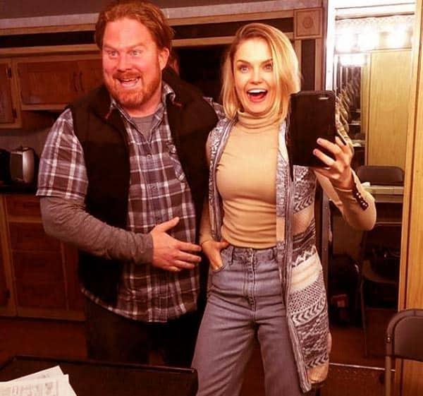 Image of Casey Webb with Graci Carli