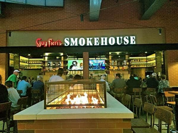 Image of Guy Fieri restaurant Smokehouse