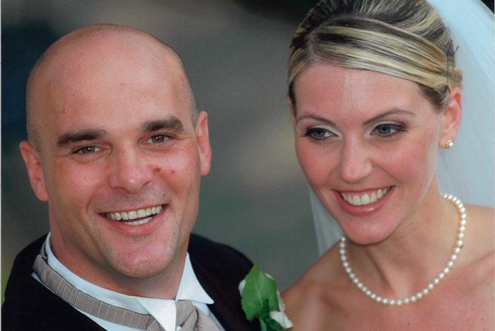 HGTV Bryan and Sarah Baeumler wedding