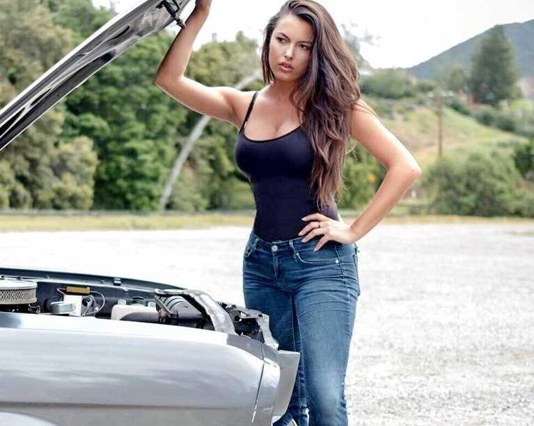 Female mechanic at the first Gotham Garage location, Constance Nunes