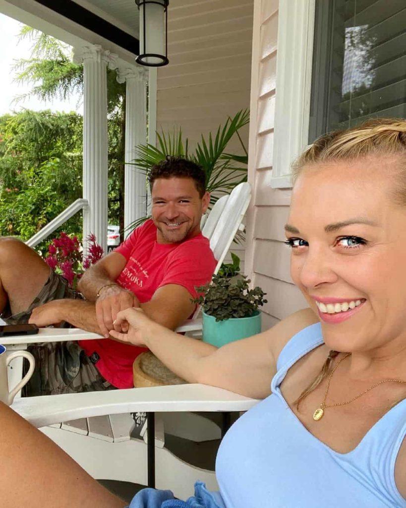 Image of Kortney Wilson with Boyfriend Ryan