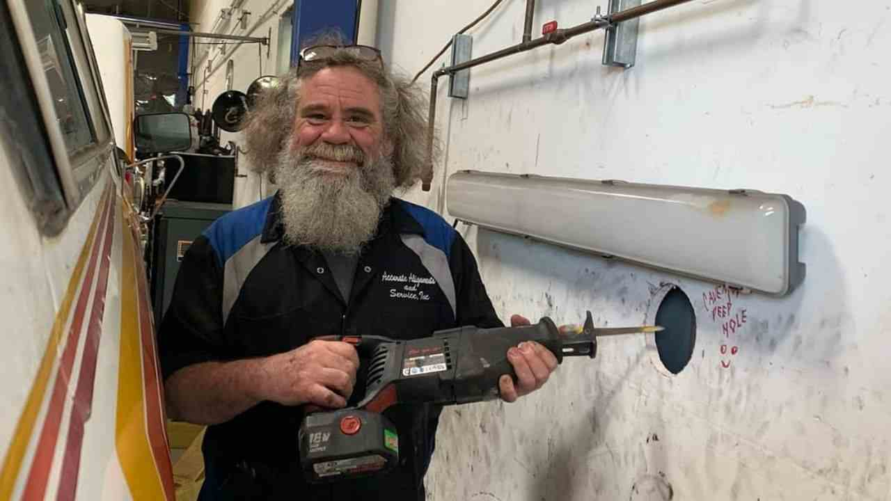 A car enthusiast and restoration consultant, Michael Pyle