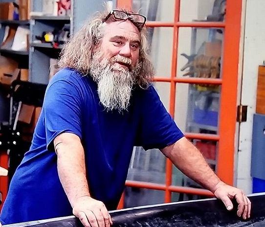 """Gotham Garage crew member, Michael """"Caveman""""Pyle"""