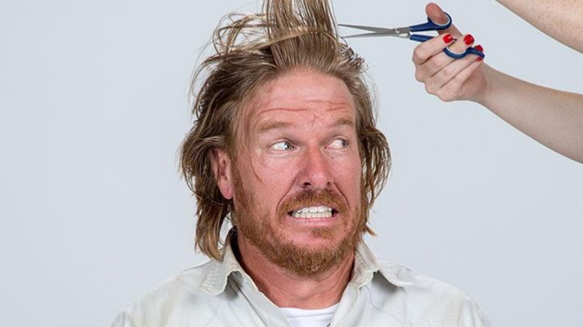 Chip Gaines Hair Cut