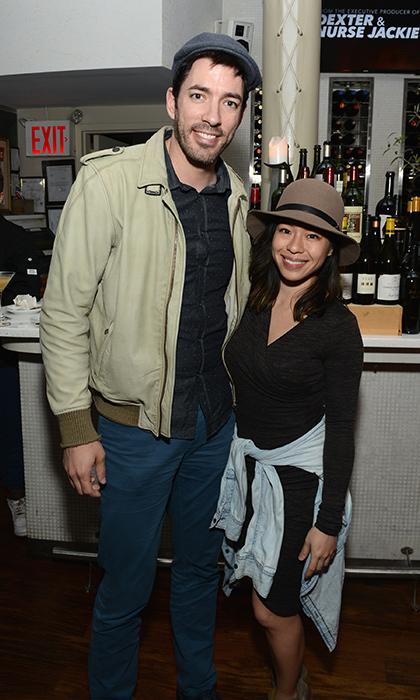 Drew Scott wife Linda Phan height