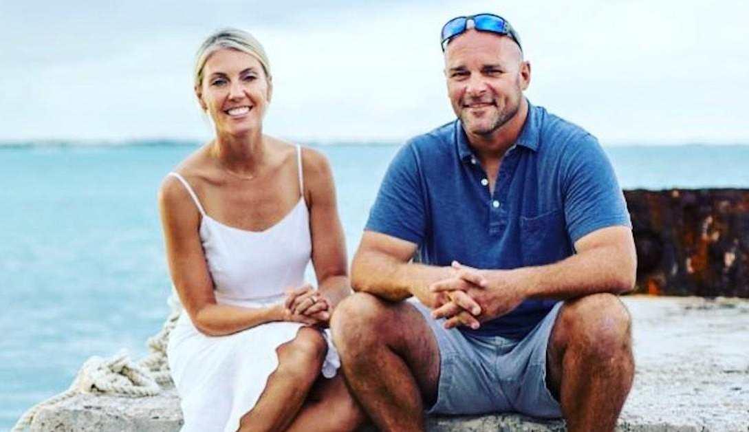 Bryan and Sarah Baeumler celebrate their 17th anniversary