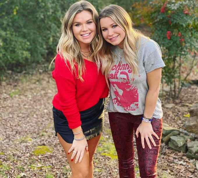 Mallory Gulley with her sister, Natalie Gulley