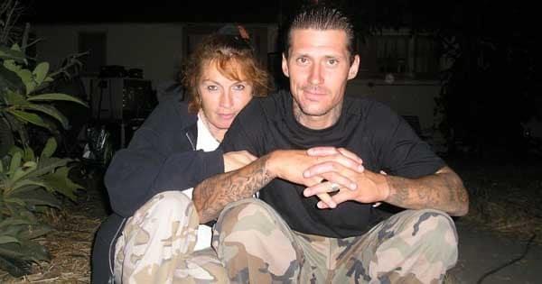 Tia Torres with her Ex-husband, Mr, Jackson